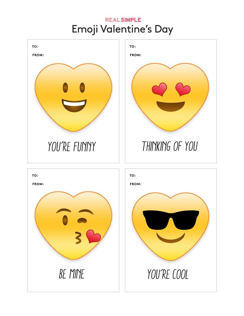 Fun (And Free) Printable Valentine's Day Cards To Download - Free Printable Funny Thinking Of You Cards
