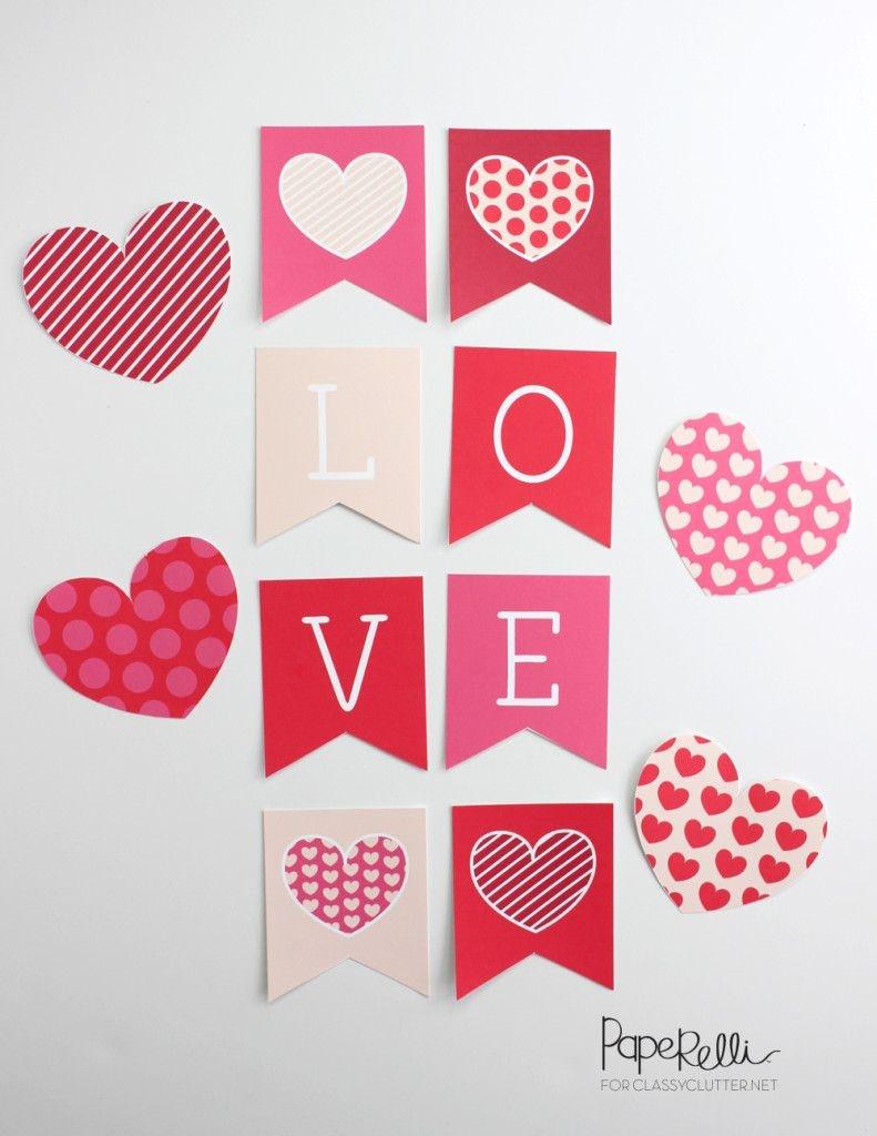 Fun Valentines Day Printables | Free Printables | Valentine's Day - Free Printable Valentine Decorations