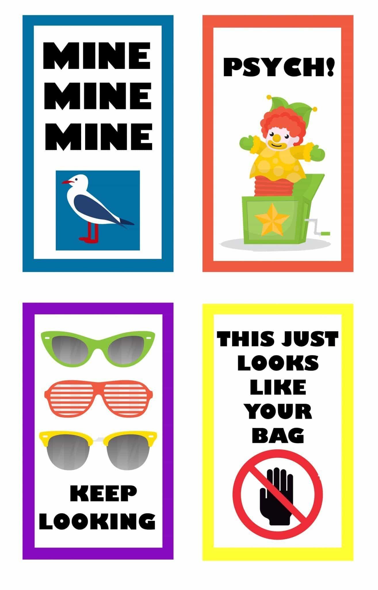 Funny Free Printable Luggage Tags | Luggage Tags | Travel Tags, Tags - Free Printable Luggage Tags