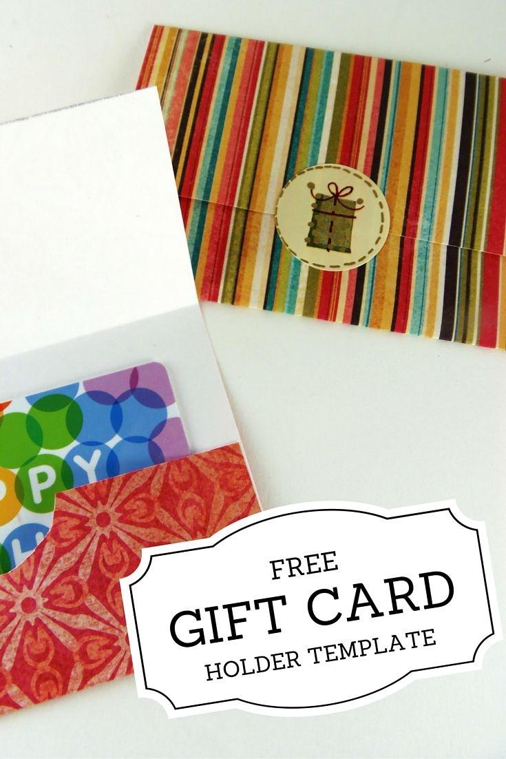 Gift Card Holder Templates   Christmas   Printable Gift Cards - Free Printable Christmas Money Holders