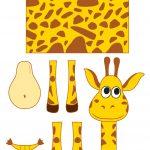Giraffe Templates. Powerpoint Templates Nature Giraffe Animals   Giraffe Mask Template Printable Free