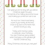 Goodbye Letter From The Elf On A Shelf | Christmas! | Elf Letters   Elf On The Shelf Goodbye Letter Free Printable