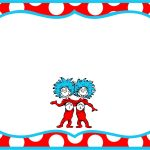 Gorgeous Dr Seuss Border Party Invitation Template According Newest   Dr Seuss Free Printable Templates