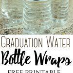 Graduation Water Bottle Wraps – The Centsable Shoppin   Free Printable Water Bottle Labels Graduation