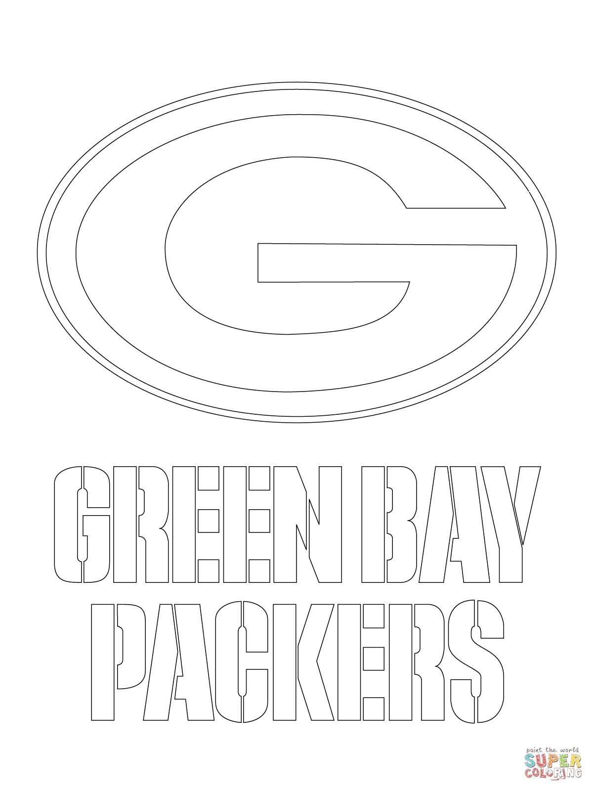 Green Bay Packers Templates | You Might Also Be Interested In - Free Printable Green Bay Packers Logo