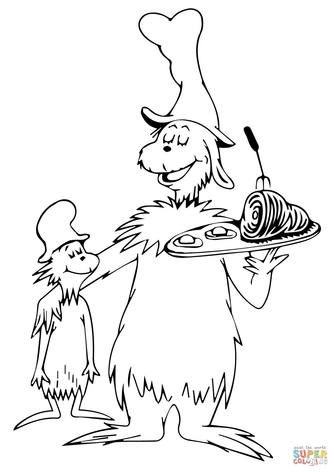 Green Eggs And Ham Coloring Page   Young Womens   Dr Seuss Coloring - Free Printable Dr Seuss Coloring Pages