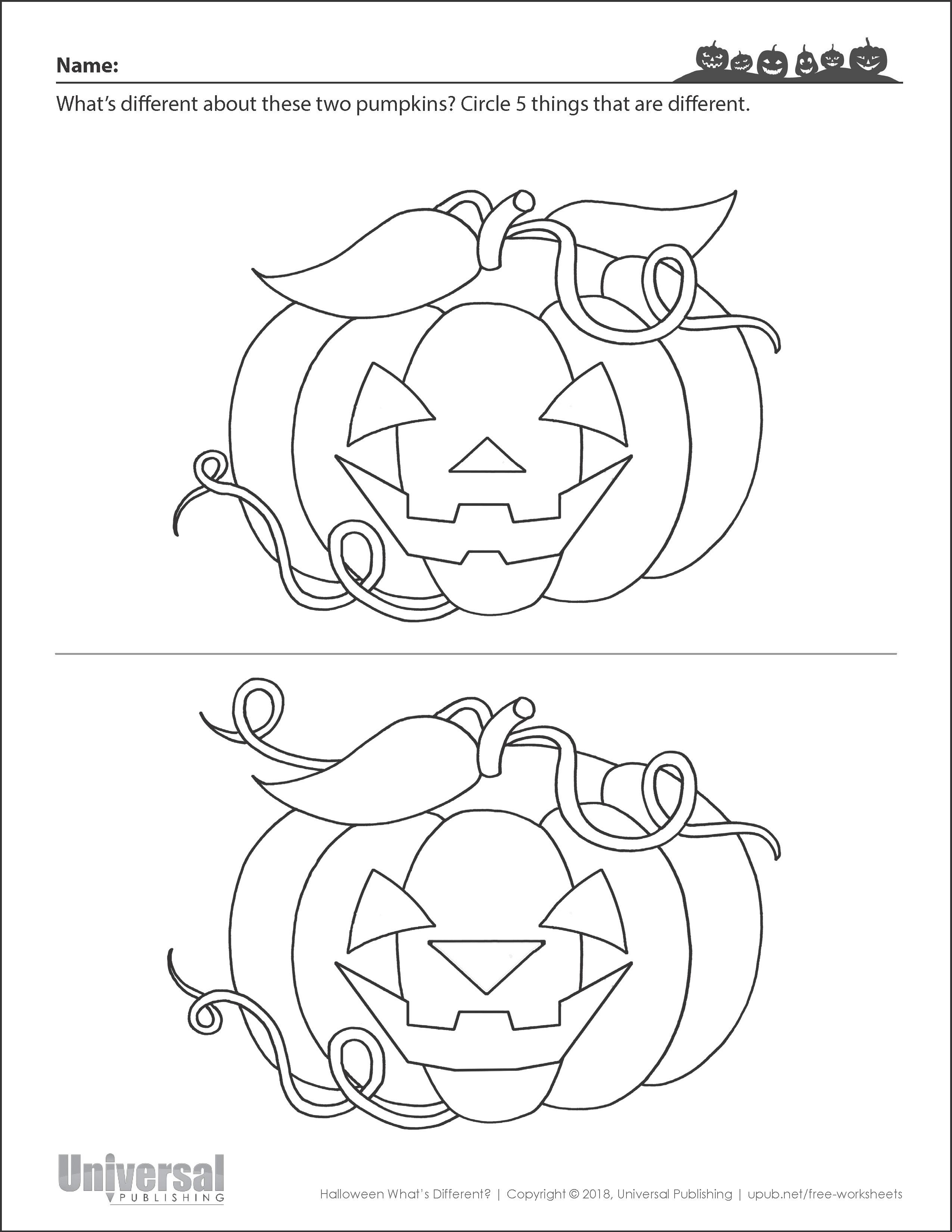 Halloween Activities | Free Printables - Universal Publishing - Free Printable Halloween Activities