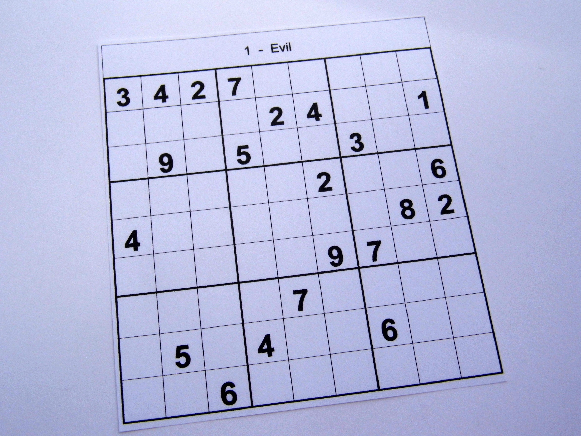 Hard Printable Sudoku Puzzles 2 Per Page – Book 1 – Free Sudoku Puzzles - Free Printable Sudoku Books
