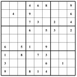 Hard Puzzle | Free Sudoku Puzzles | Printable Sudoku 4 Per Page   Free Printable Sudoku Puzzles