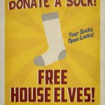 Harry Potter Poster / Spew Poster / Spew Free House Elves Propaganda   Free Printable Harry Potter Posters