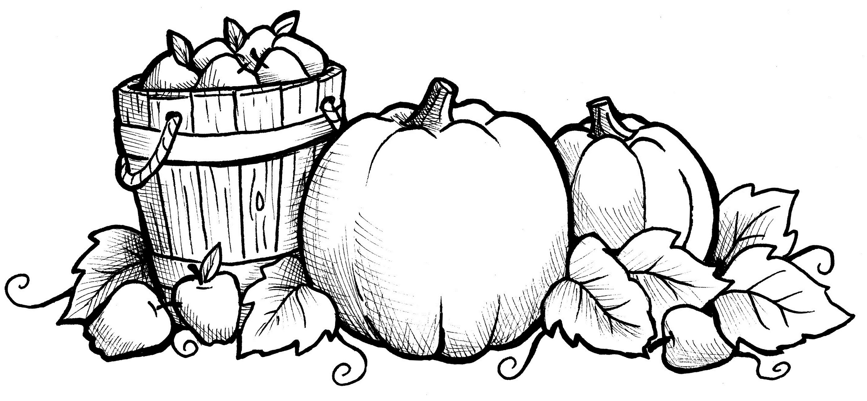 Harvest Coloring Pages - Best Coloring Pages For Kids - Free Printable Fall Coloring Pages