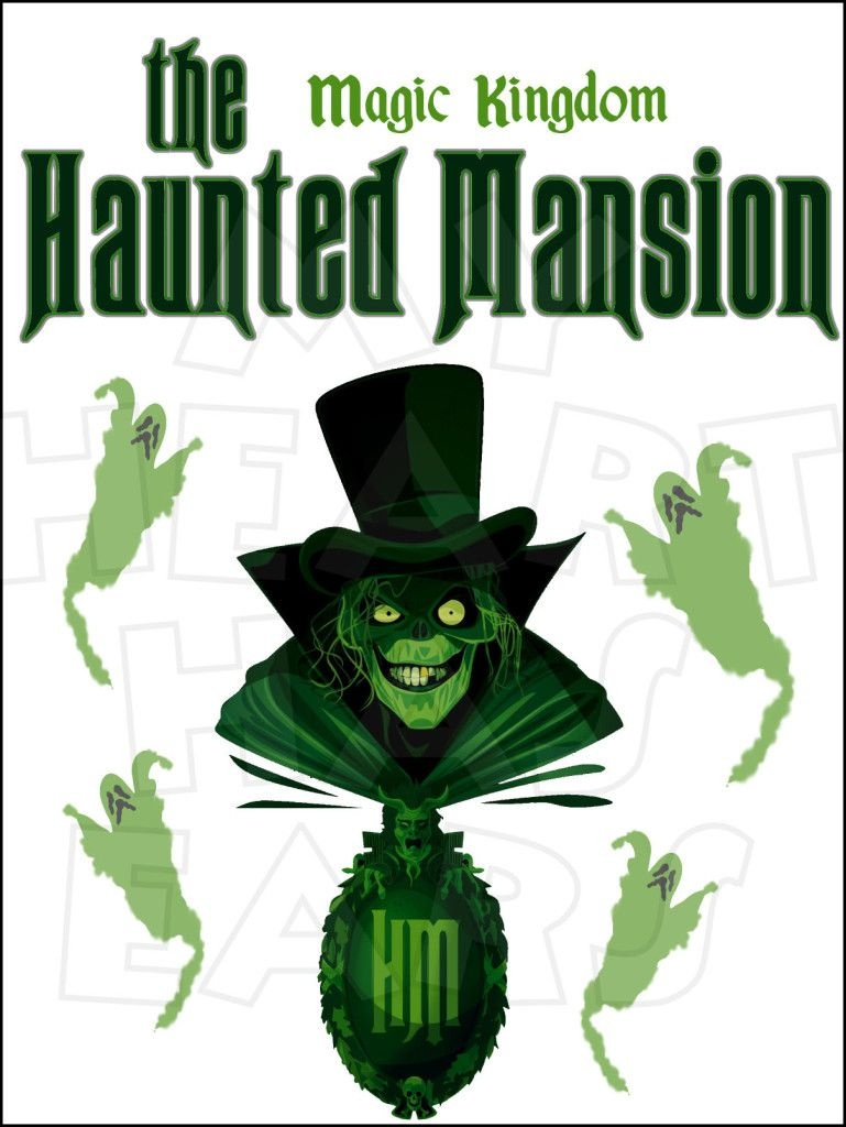 Haunted Mansion Instant Download Digital Clip Art Diy Iron On - Free Printable Halloween Iron Ons