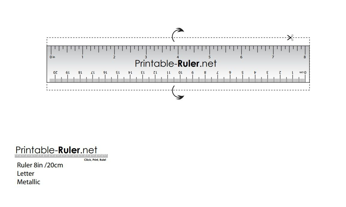 Here Are Some Printable Rulers When You Need One Fast - Free Printable Ruler