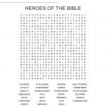 Heroes Of The Bible Word Search   Wordmint   Christian Word Search Puzzles Free Printable