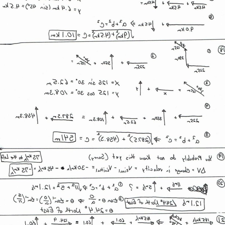 High School Physics Vector Worksheets Baf | Soidergi - Free Printable Physics Worksheets
