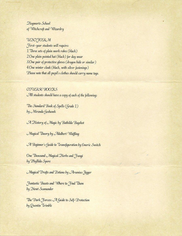 Hogwarts Acceptance Letter P.2Javi3108 | Harry Potter | Hogwarts - Hogwarts Acceptance Letter Template Free Printable