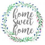 Home Sweet Home, Dorm Sweet Dorm, & Office Sweet Office Wall Art   Home Sweet Home Free Printable
