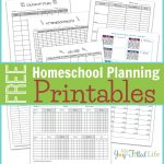 Homeschool Planning Resources & Free Printable Planning Pages   Free Printable Attendance Sheets For Homeschool