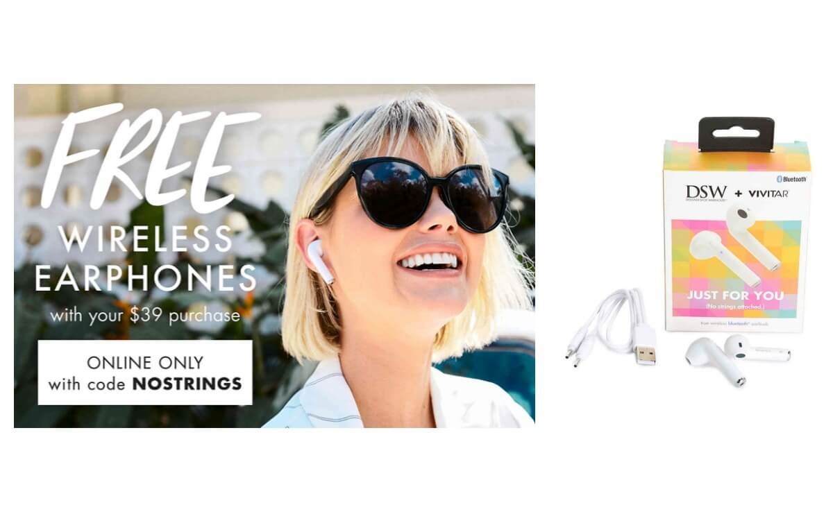 Hot! Free Wireless Headphones With Any $39 Purchase At Dsw! |Living - Free Printable Coupons For Dsw Shoes