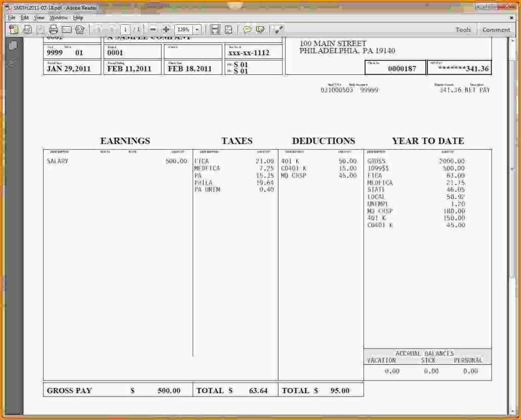 Hourly Wage Then Log Download Pay Stub Template Word Free Pay Stub - Free Printable Paycheck Stubs