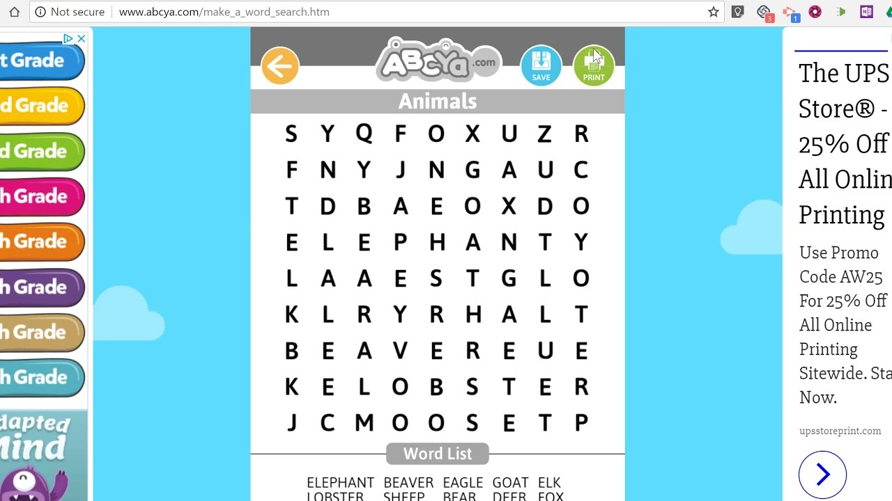 How To Create A Word Search Puzzle - Youtube - Create A Wordsearch Puzzle For Free Printable