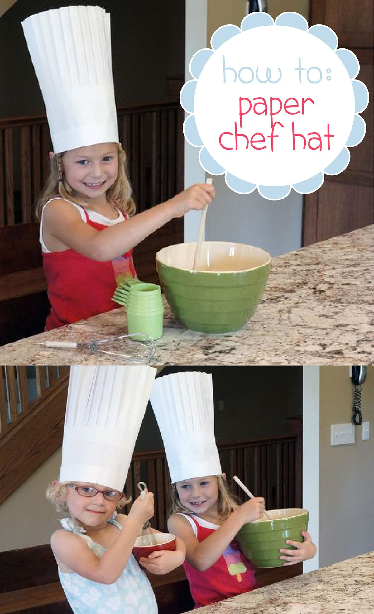 How To Make A Paper Chef Hat | Diy Paper Crafts | Paper Chef Hats - Free Printable Chef Hat Pattern