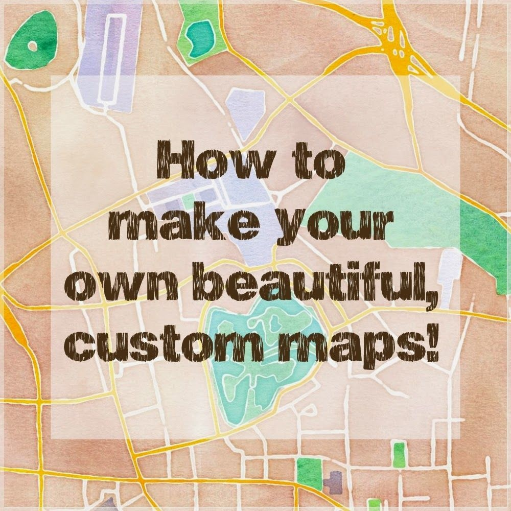 How To Make Beautiful Custom Maps To Print, Use For Wedding Or Event - Free Printable Wedding Maps
