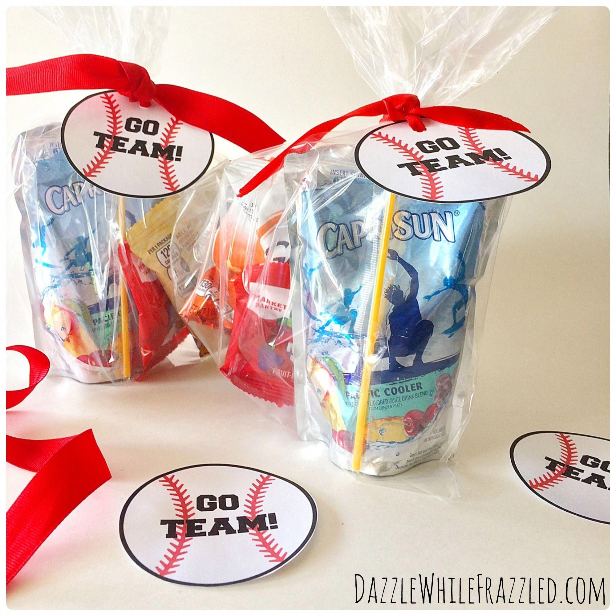 How To Make Printable Tags For Baseball Snack Bags | Sports Mom - Free Printable Baseball Favor Tags