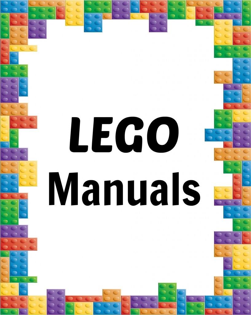How To Organize Lego Manuals (+ Free Lego Printables!)   Making Lemonade - Free Printable Lego Instructions