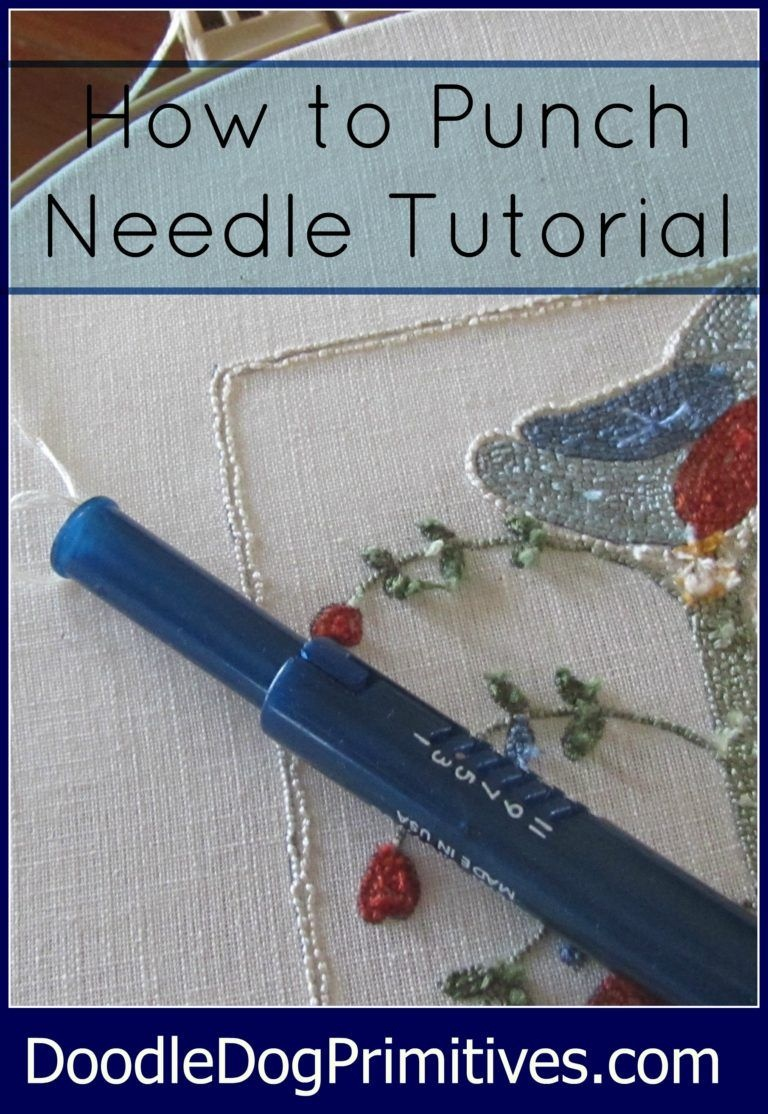 How To Punch Needle Series #1: Tracing The Pattern | Crochet | Punch - Free Printable Punch Needle Patterns