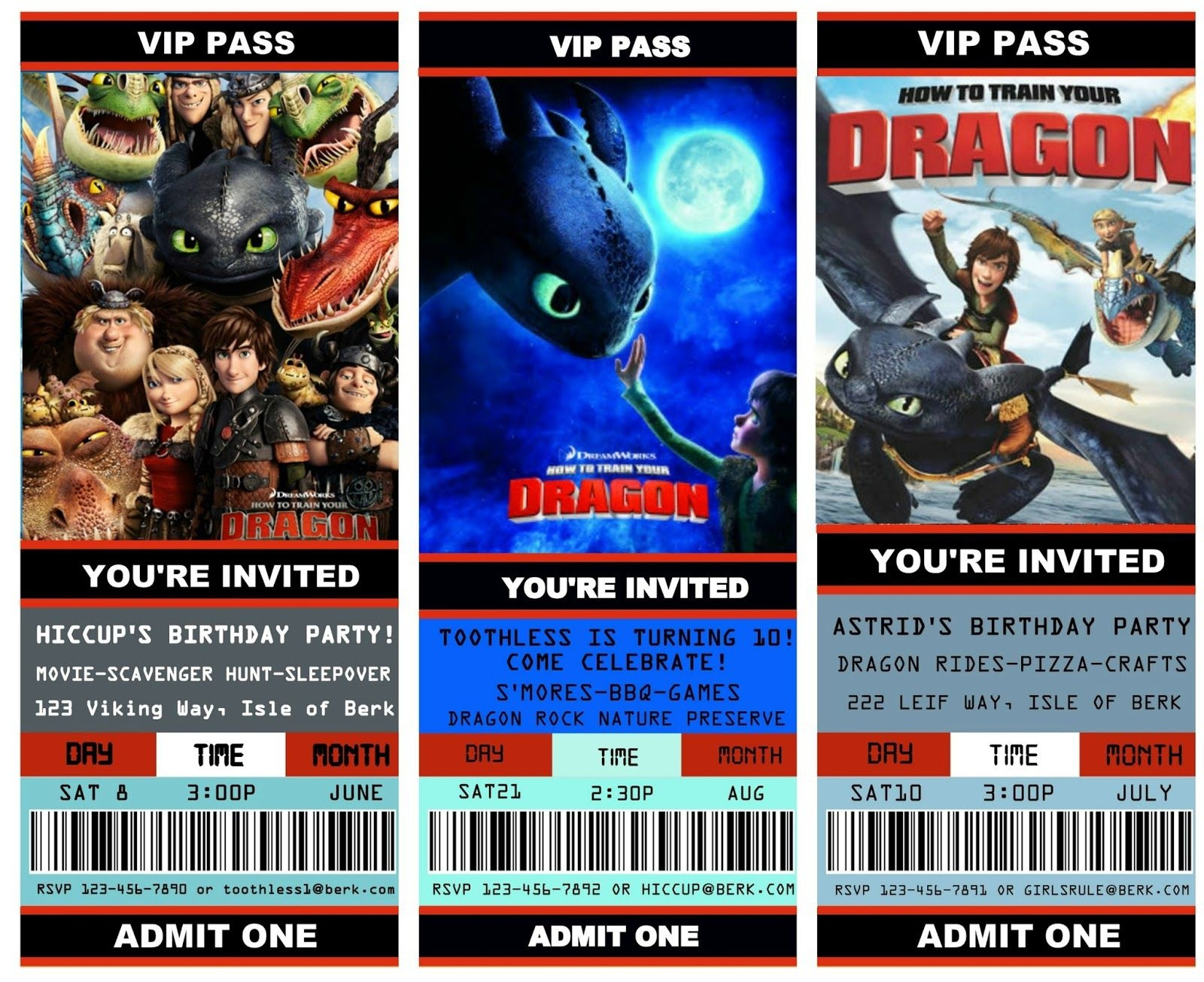 How To Train Your Dragon Birthday Invitations Printable Here Are - How To Train Your Dragon Birthday Invitations Printable Free