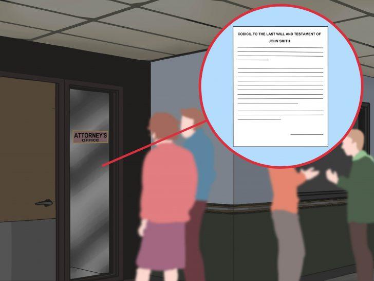 Free Printable Codicil Form