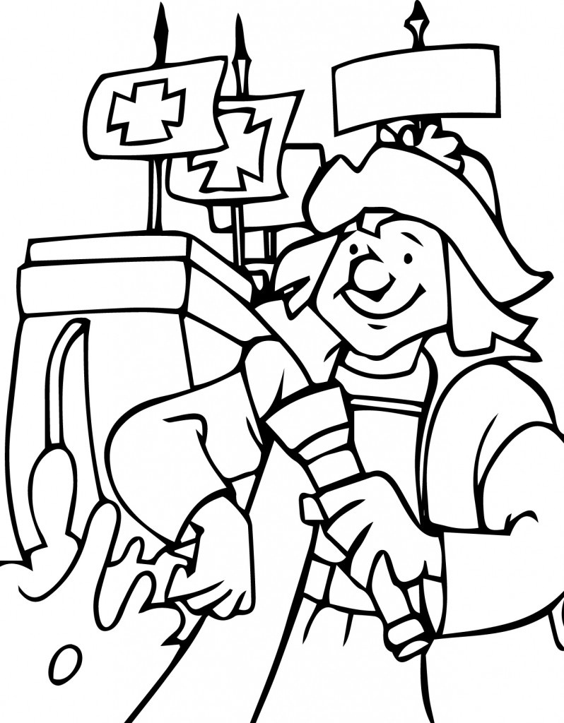 Hurry Christopher Columbus Ships Coloring Pages Page Discovery Of - Free Printable Christopher Columbus Coloring Pages