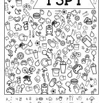 I Spy Free Printable Kids Game | Spy School Camp | Spy Games For   Free Printable I Spy Puzzles