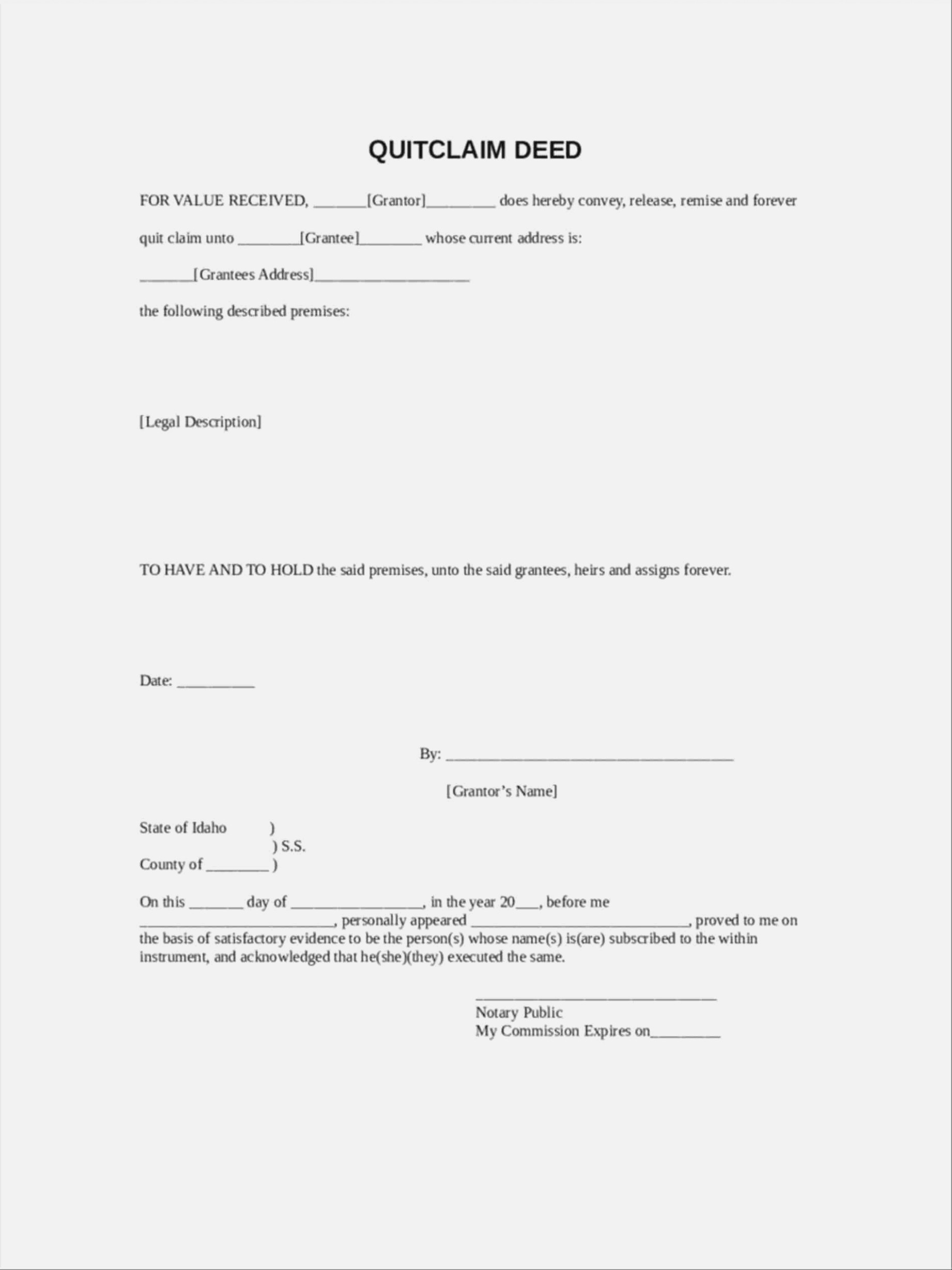 I Will Tell You The Truth | Realty Executives Mi : Invoice And - Free Printable Quit Claim Deed Form