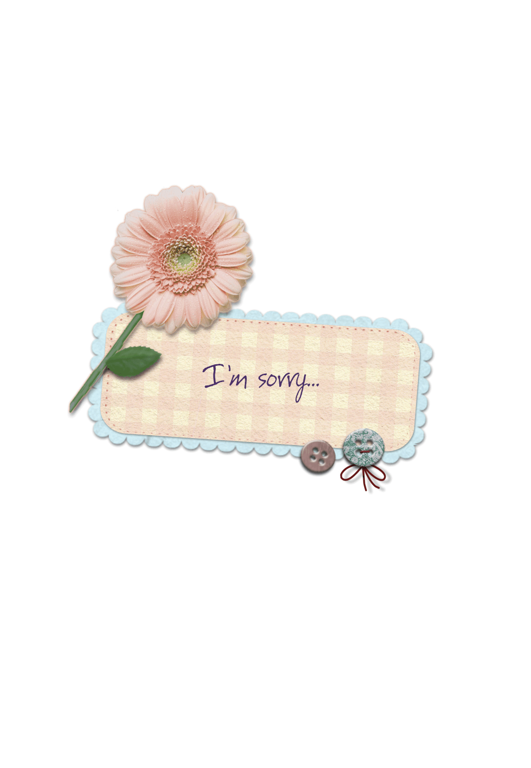 Im Sorry - Sorry Card (Free) | Greetings Island - Free Printable I Am Sorry Cards