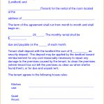 Image Result For College Roommate Agreement Template Room Rental   Free Printable Room Rental Agreement Forms