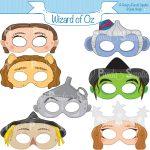 Image Result For Flying Monkeys Images | Oz | Wizard Of Oz, Monkey   Free Printable Wizard Of Oz Masks