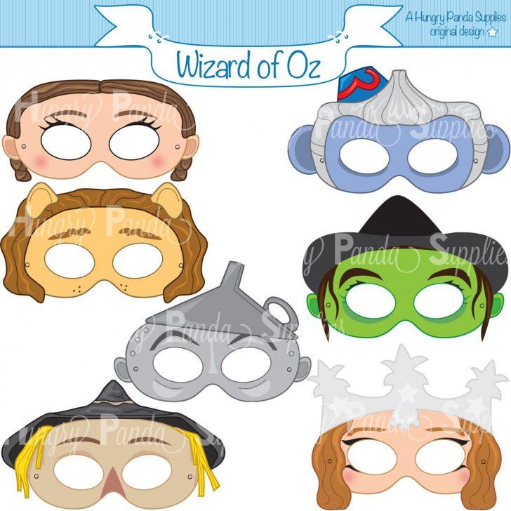 Free Printable Wizard Of Oz Masks
