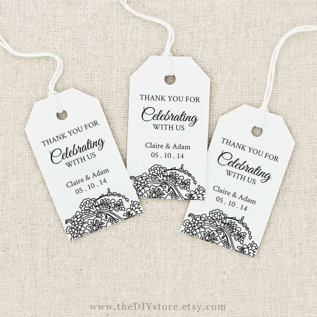 Image Result For Free Printable Wedding Favor Tags Template - Free Printable Favor Tags