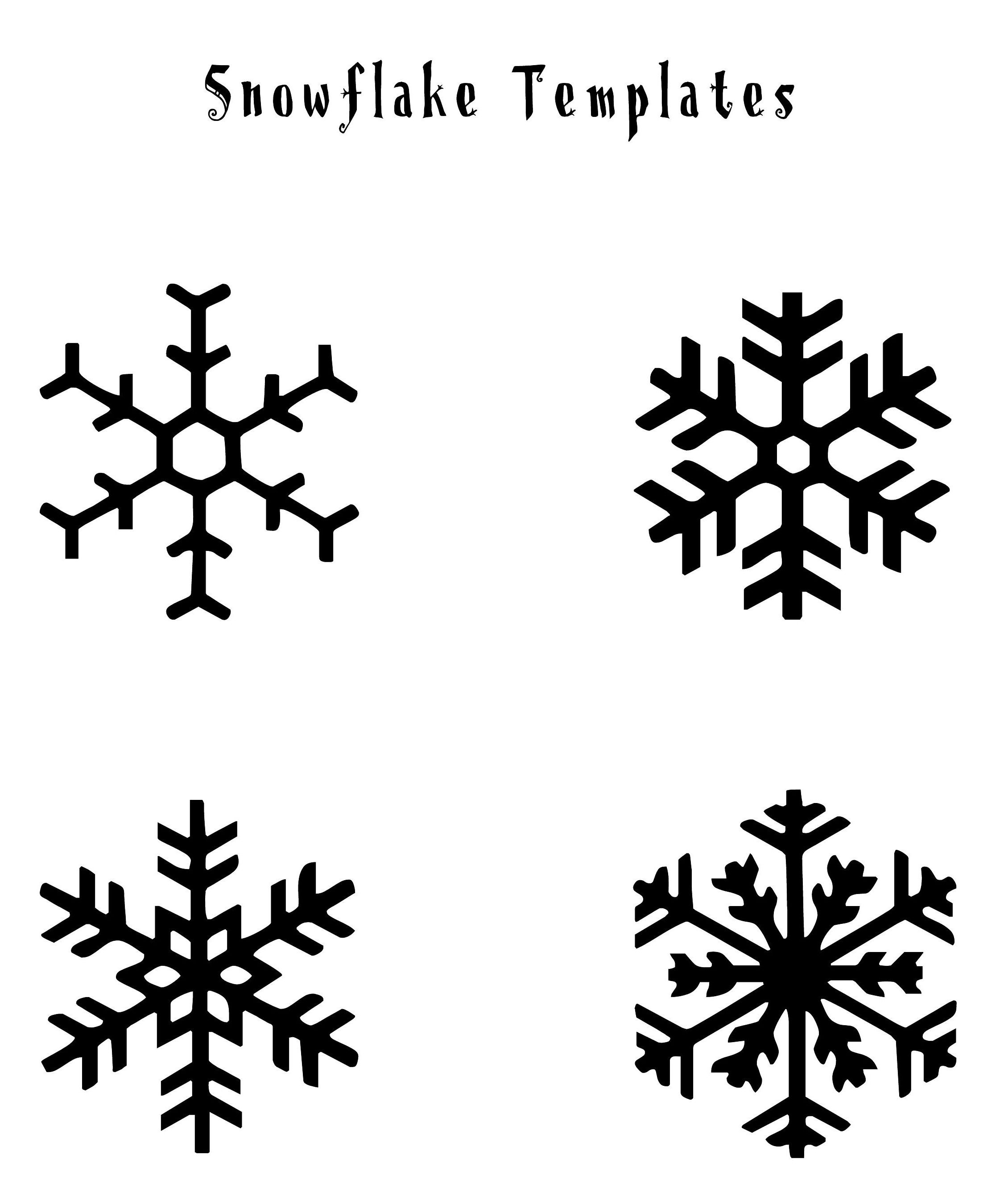 Image Result For Snowflake | Christmas Fun | Snowflake Template - Free Printable Snowflake Patterns