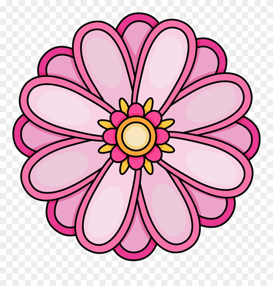 Imagination Pictures Of Flowers To Color Free Printables - Flower - Free Printable Flowers