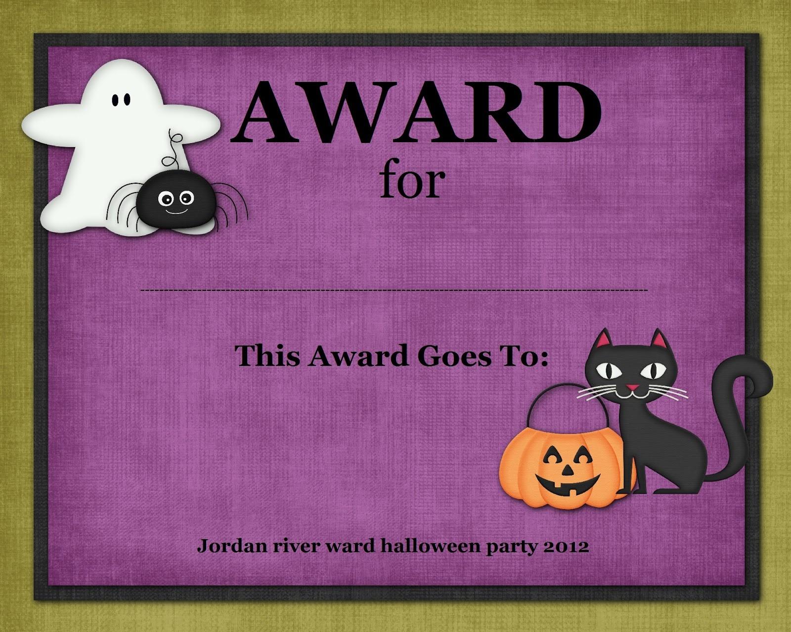 Index Of /cdn/28/2003/908 - Free Printable Halloween Award Certificates