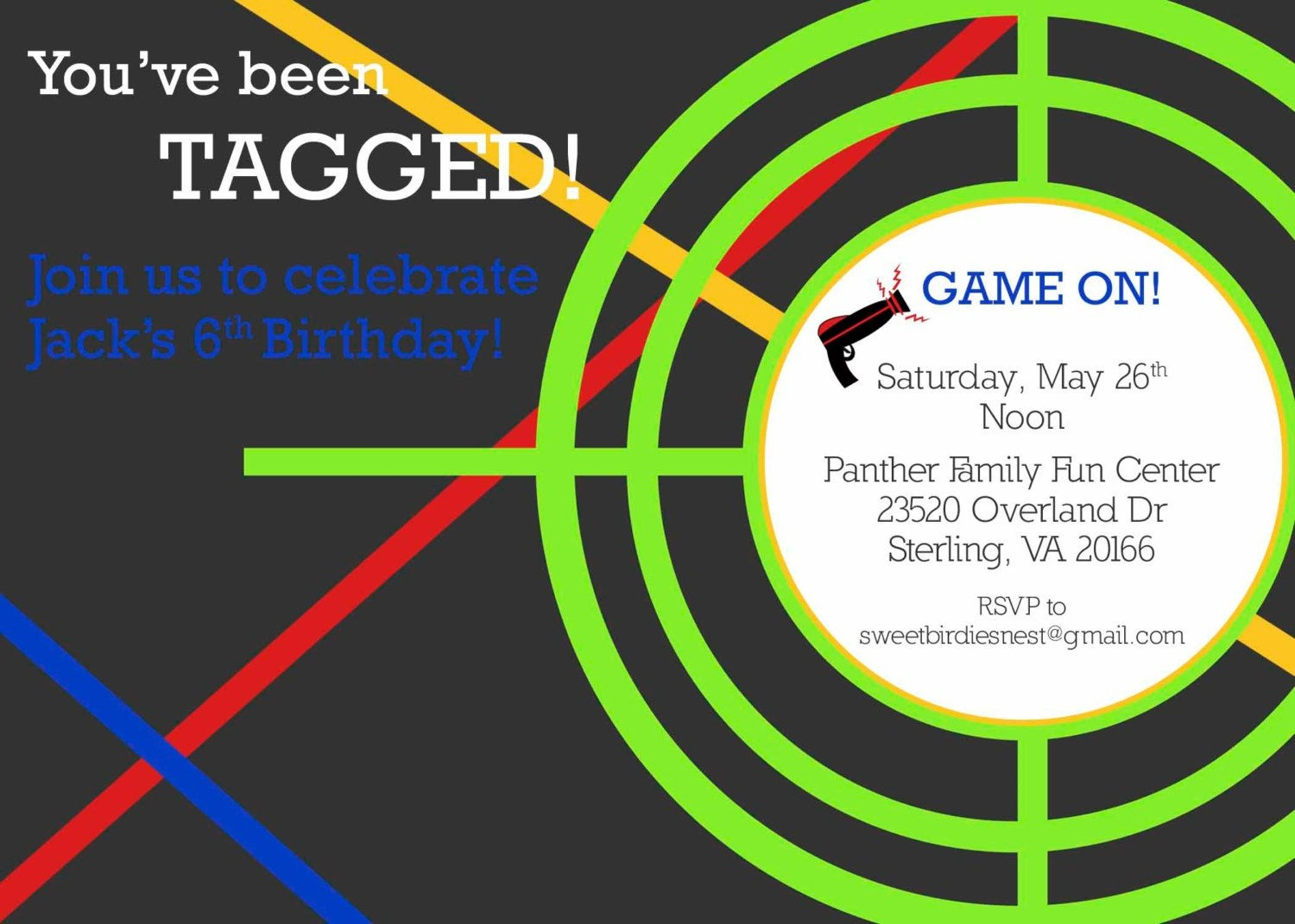 Invites | Boys Birthday Ideas In 2019 | Laser Tag Party, Laser Tag - Free Printable Laser Tag Invitation Template