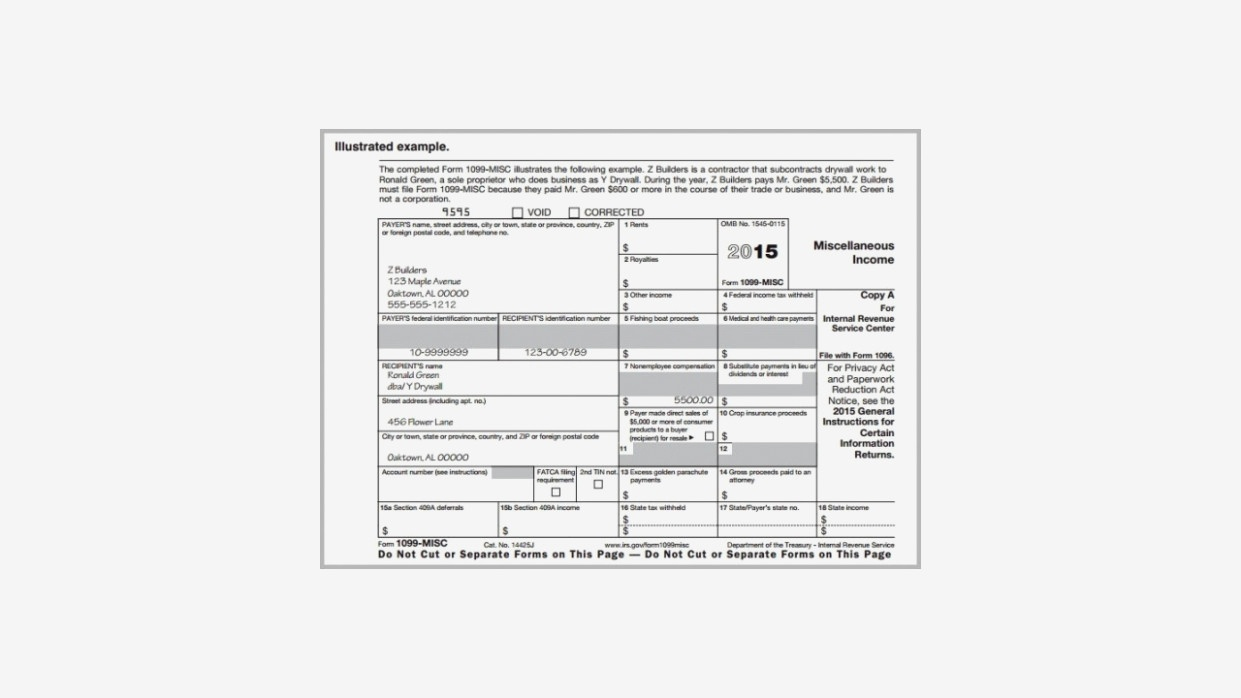 Irs 12 Form 12 Printable Free | Papers And Forms – Blank 1099 Misc - Free Printable 1099 Form