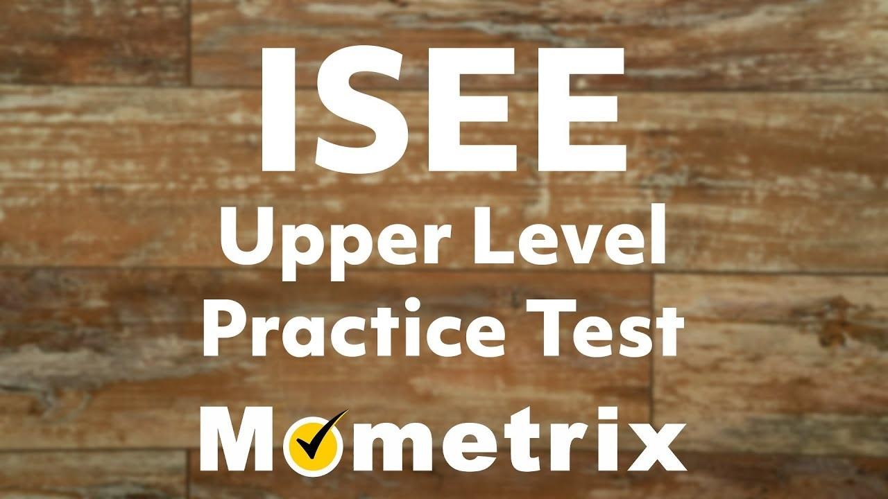 Isee Practice Test (2019) - Isee Test Prep - Free Isee Practice Test Printable