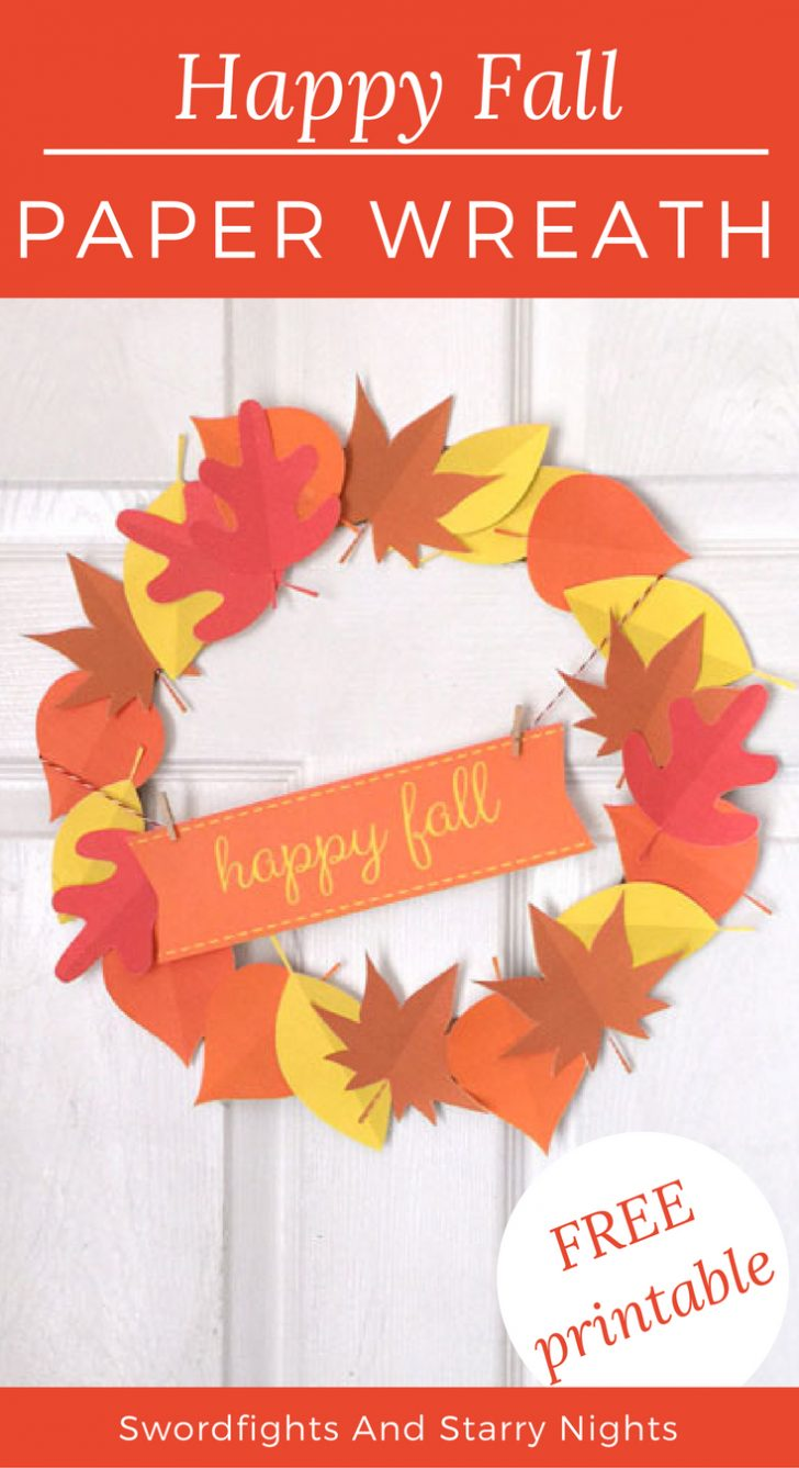 Free Printable Autumn Paper