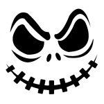 Jack Skellington Pumpkin | Kiddie Crafts | Halloween Pumpkin   Pumpkin Cutouts Printable Free
