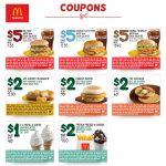 July Breakfast Menu Mcdonalds Coupons   Free Printable Mcdonalds Coupons Online