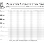 Keeping Track Of Medications {Free Printable Chart}   Flanders   Free Printable Medication Log